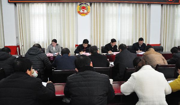 洛南县政协持续开展优化营商环境专...