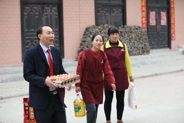 洛南县政协委员张鹏的大爱情怀