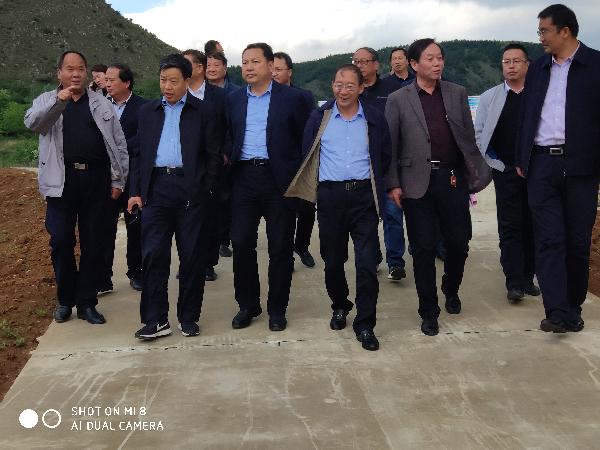 商洛市政协调研组来洛南县调研土地整理工作 (5)