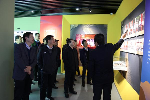 市政协委员集中视察洛南远元职业技术培训学校