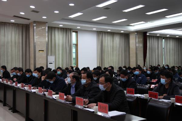 """洛南县召开2021年""""两会""""筹备工作会议 (1)"""