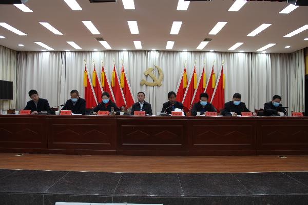 """洛南县召开2021年""""两会""""筹备工作会议 (2)"""