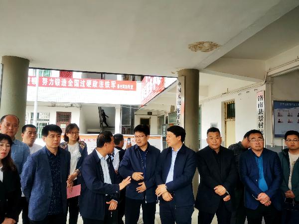 宝鸡市千阳县政协来我县考察委员...